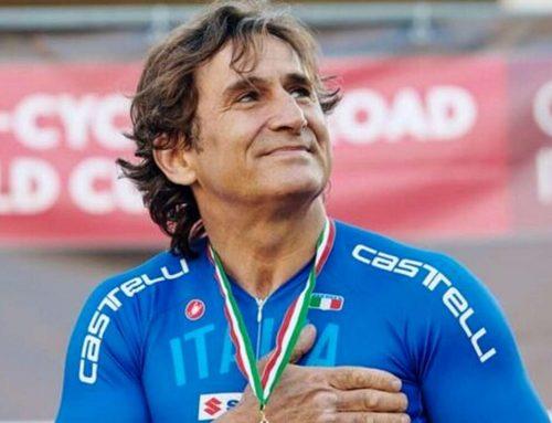 """La staffetta """"Obiettivo tricolore"""", nata da Alex Zanardi, fa tappa a Borgo San Lorenzo"""