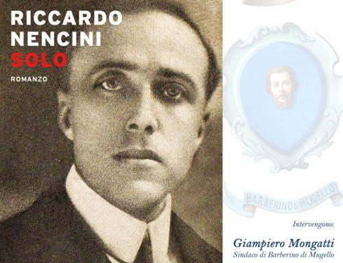 """Presentazione di """"Solo"""", l'ultimo libro di Riccardo Nencini"""