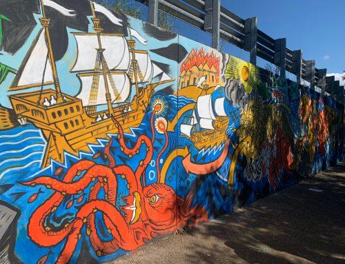 Giornata della memoria e dell'accoglienza, inaugurato il murale a Pontassieve