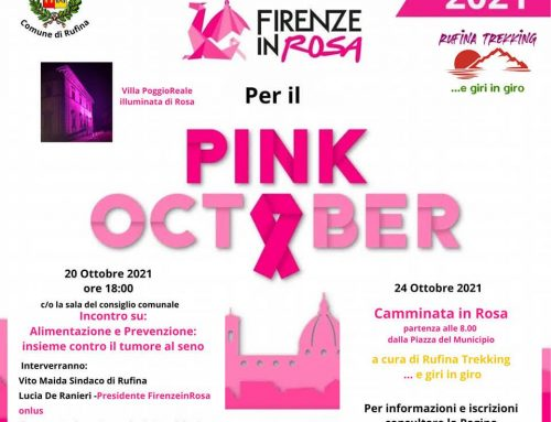 """A Rufina le iniziative del """"Pink October"""""""